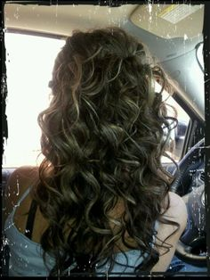maid of honor hair!
