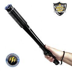 STREETWISE Barbarian Stun Baton Flashlight 9 Million Volts