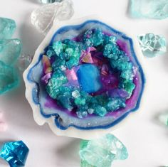 In just 10 steps, you can DIY your very own gemstone-inspired soap.