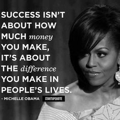 The First Lady, Michelle Obama