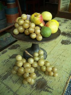 Stone fruit. Country Furniture, Country Decor, Fruit Love, Country Treasures, Beautiful Fruits, Stone Fruit, Antique Shops, American Country, French Country