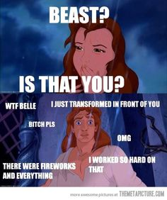 Is that you Beast? Ha ha this made me laugh @natycoffman I think of you every time I see something Beauty and the Beast related :)