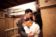 Themed Engagement Announcements: Superhero