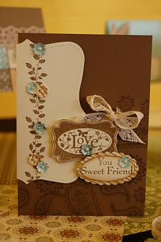 super cute and  different card