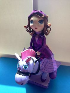 Sofia the first centerpiece   Minimus the Great  by SweetBellaLuna, $35.00