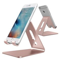 [Updated Solid Version] OMOTON Desktop Cell Phone Stand Tablet Stand