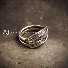 Sterling Silver Ring Stacking Ring Unique Gift Ring Jewelry Accessories Women Mens