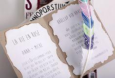 ANNAWII ♥ - MY BOHEMIAN WEDDING - THE INVITATIONS