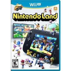 """Nintendo Land is a mini-game compilation specifically for play on Nintendo's Wii U game console (sold separately). The compilation releases concurrently with the Wii U console, and features 12 Nintendo franchise themed games, referred to as """"attractions."""" These are set in an interactive theme park environment, and are designed to highlight the functionality of the new console. Features include: multiplayer support up to five players in select mini-games, support of Wii Remotes controllers."""