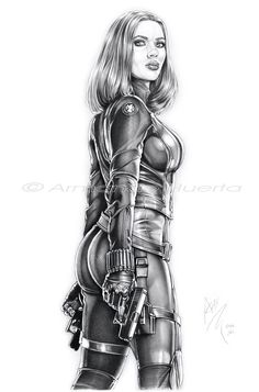 Black Widow Winter Soldier II - FTW by Armando-Huerta.deviantart.com on @deviantART