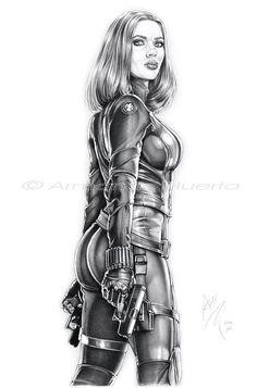 Black Widow Winter Soldier II - FTW by Armando-Huerta.deviantart.com on @deviantART