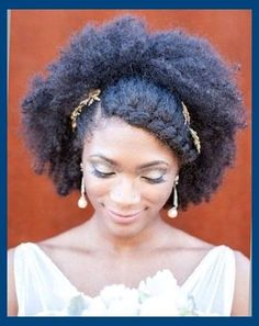 Bridal Hairstyles For African American Women In 2016 Bridal Afro ...