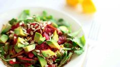 Watch Martha Stewart's Mixed Beets Slaw and Arugula Salad Recipe Video. Get more step-by-step instructions and how to's from Martha Stewart.