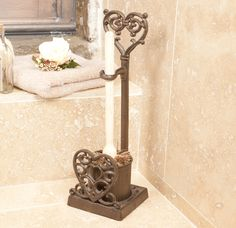 Cast Iron Toilet Brush