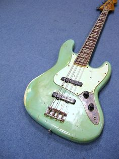 Check out custom bass guitar Vintage Bass Guitars, Custom Bass Guitar, Fender Bass Guitar, Bass Ukulele, Fender Guitars, Guitar Amp, Cool Guitar, Guitar Chords, I Love Bass