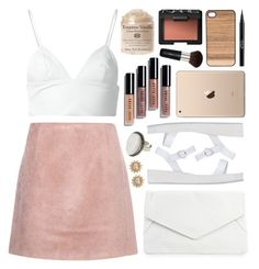 """""""Gina Vanilla"""" by sophiehackett ❤ liked on Polyvore featuring Rut&Circle, Acne Studios, Ancient Greek Sandals, Bobbi Brown Cosmetics, T By Alexander Wang, People Tree, Carolee, Wood'd, Stila and Christian Dior"""