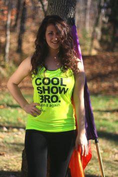 Cool Show Bro Neon Yellow Tank