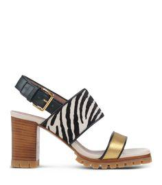 Marni Zebra Print Sandal