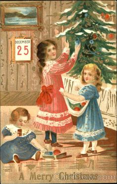 Girls A Merry Christmas