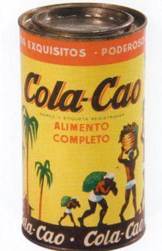 #ColaCao #Packaging #Retro
