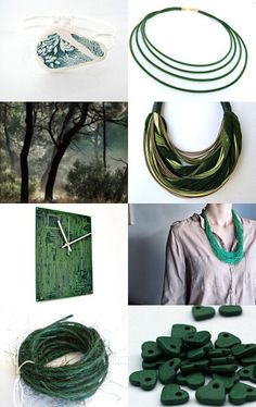 --Pinned with TreasuryPin.com Emerald Green, Greek, Artists, Handmade, Etsy, Outdoor, Outdoors, Hand Made, Greek Language