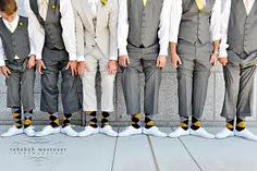 grey suit yello socks - Google Search
