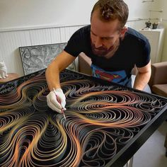 Artist Duo Stallman Create 'Canvas On Edge' Art Collection