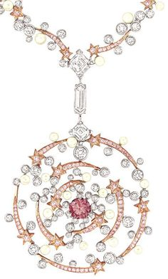 Detail: Chanel Spirale necklace. Via The Jewellery Editor.