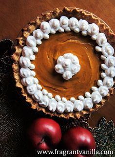 Vegan Butternut Squash Apple Pie | Fragrant Vanilla Cake