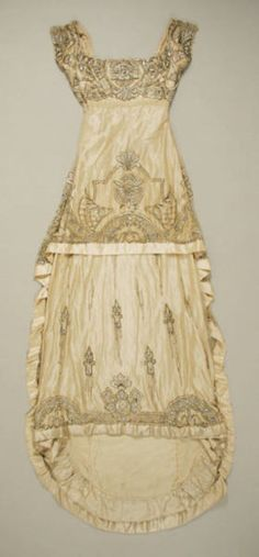 French evening gown, 1911.