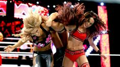 Natalya & The Bella Twins vs. AJ Lee, Tamina & Alicia Fox: photos | WWE.com