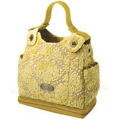 ppb cake society satchel diaper bag