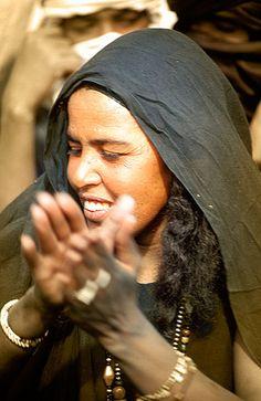 Mujer tuareg, Festival de Essouk - Tuareg woman, Essouk Festival (January 2004) www.vicentemendez.com