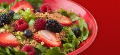 Nuts About Berries salad from Zupas - so great. Dressing recipe:  Poppy Seed dressing  Ingredients  1/3 cup white sugar  1/2 cup white vinegar  1 teaspoon salt  1 teaspoon ground dry mustard  1 teaspoon grated onion  1 cup vegetable oil  1 tablespoon poppy seeds  Directions  In a blender or food processor, combine sugar, vinegar, salt, mustard and onion and process for 20 seconds. With blender or food processor on high, gradually add oil in a slow, steady stream. Stir in poppy seeds.