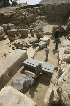 """Egypt pyramid uncovered 