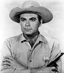 John Bromfield - TV and film actor, producer, commercial fisherman (Sheriff of Cochise or US Marshall) Hollywood Icons, Hollywood Actor, Clint Walker, Anthology Series, Tv Westerns, Old Movie Stars, Actor John, Thing 1, Western Movies
