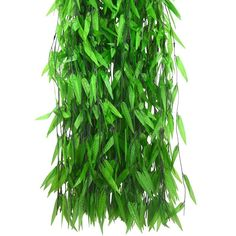 HOGADO 375 Feet Artificial Vine Greenery Garland Faux Silk Willow Rattan Wicker Twig Fake Garden Wedding Festival Windowsill Balcony Courtyard Decor * Read more at the image link. (This is an affiliate link) Artificial Eucalyptus Garland, Artificial Palm Leaves, Artificial Plants, Willow Leaf, Silk And Willow, Twigs Decor, Garden Shed Interiors, Green Garland, Garden Party Decorations