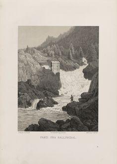 Norge fremstillet i Tegninger - Hans Gude - Parti fra Hallingdal. jpg (4360×6080)