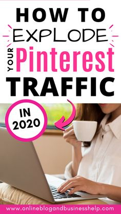 The Secret weapon I used to get massive traffic from Pinterest in 2020! A wildly successful strategy for content creators. Increase your Pinterest traffic to your blog or website with this proven Pinterest manual pinning strategy. It drastically grew my blogs page views  engagement. Get the best, most up to date Pinterest tips for bloggers. Learn how to get more page views from Pinterest. How to get PInterest traffic in 2020. #pinteresttips #pintereststrategy #pinterest #blogtraffic #blog Make Money From Pinterest, Pinterest For Business, Tips & Tricks, Seo Tips, Design Facebook, Entrepreneur, Networking Websites, Online Blog, Pinterest Marketing