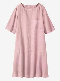 LINEN LOUNGE DRESS | AW16 Early Autumn House & Home