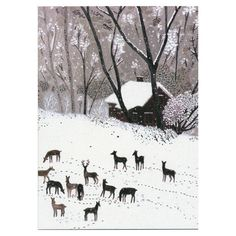 Becca Stadtlander Winter Card by Little Otsu