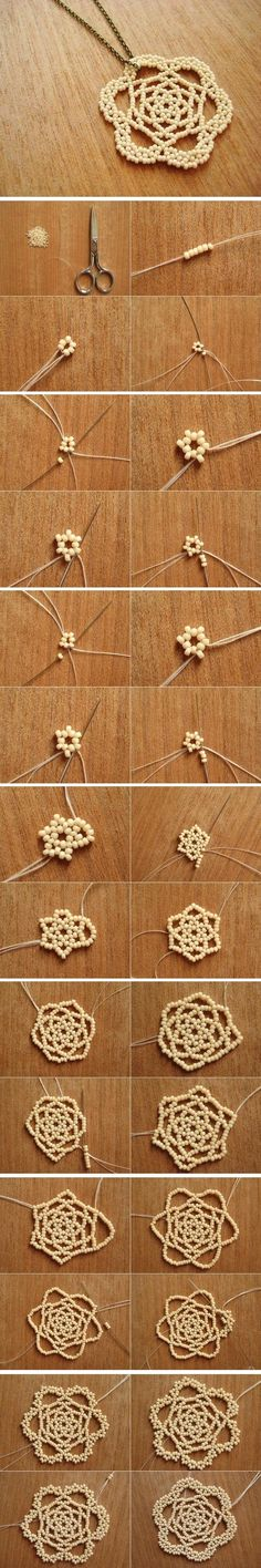 DIY Bead Necklace beads crafts ---vma.