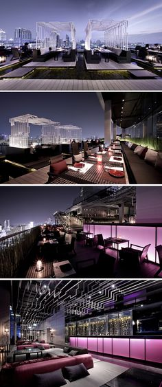 Bangkok - ZENSE Gourmet Deck & Lounge Panorama - By The Rebirth / Department of Architecture