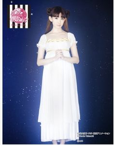 AKB48's Haruna Kojima Models Peach John's New Sailor Moon Lingerie