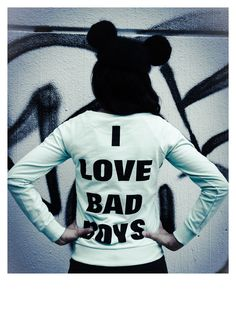 Disney Belgium x Mootch by Appel's Mickey sweat. I love bad boys. Mickey ears hat