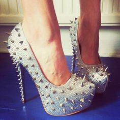 Not really a fan of spikes on shoes . But these are cute !