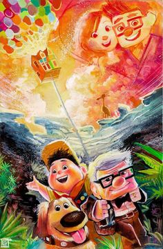 UP ♥ Might be a cartoon, but its one of the best love stories EVER! ♥ ♥
