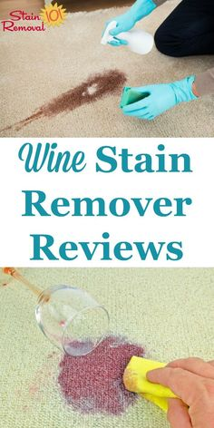 Here is a round up of wine stain remover reviews for several different brands, so you can find out which ones work best on various surfaces including clothing, upholstery, carpet and more when your wine spills {on Stain Removal 101}