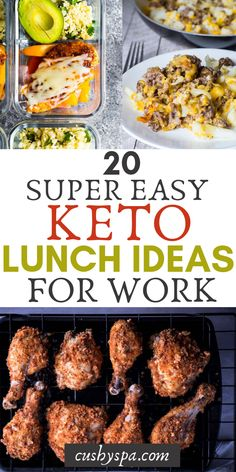 Try these keto lunch ideas for meal prep. You can eat low carb even at work, continue burning fat and meal prep low carb meals. Try these keto lunch ideas for meal prep. You can eat low carb even at work, continue burning fat and meal prep low carb meals. Ketogenic Diet, Ketogenic Recipes, Diet Recipes, Healthy Recipes, Keto Diet Side Effects, Crockpot, Starting Keto Diet, Keto Lunch Ideas, Breakfast