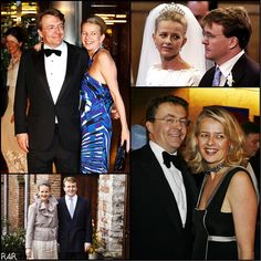 R4R Photo Spotlight: Dutch Royal Couples Friso & Mabel, married in 2004. Sadly, Friso remains in a comatose state.